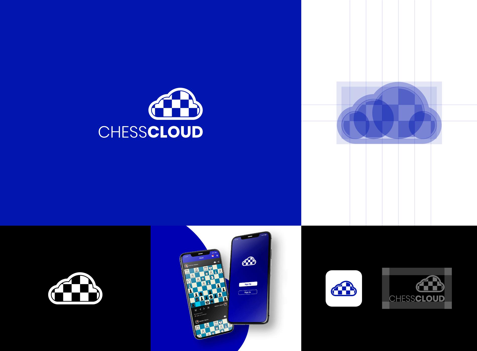 portafolio branding diseñador grafico chess ajedrez logo